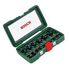 "Bosch DIY 15tlg. Fräser-Set HM (1/4""-Schaft)"