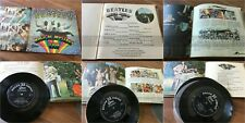 M76 THE BEATLES Magical mystery tour 7ps Double JAPAN OP-4335 gf book