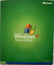 MICROSOFT WINDOWS XP HOME 2002 FULL OPERATING SYSTEM OS MS WIN - Used
