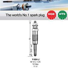 NGK Y-924J / Y924J / 3473 Sheathed Glow Plug Pack of 2