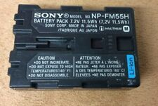 NP-QM91D NP-FM55H 2x BATTERY INTENSILO 1600mAh for Sony NP-QM91