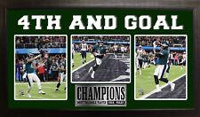 Superbowl LII Philadelphia Eagles Nick Foles MVP Triple Photo-By Encore Select