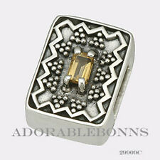 Authentic Lori Bonn Bonn Bons Silver November to Remember Slide Charm 29909C