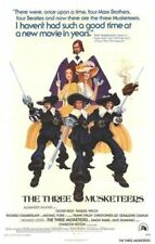THREE MUSKETEERS ORIGINAL FOLDED 27x41 THEATRICAL MOVIE POSTER 1974 RAQUEL WELCH