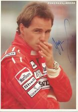 Gerhard Berger  Formel 1  Motorsport Autogrammkarte original signiert 333954