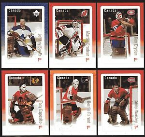 2015 Canada SC# 2873-78 NHL Hockey Great Canadian Goalies set of 6  M-NH S.S.