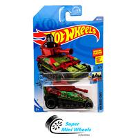 Hot Wheels Tanknator (Green) HW Ride-ONS 3/5 2020 D Case #98
