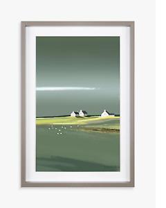 Ulyana Hammond - Aura Framed Print & Mount 41 x 60cm Grey