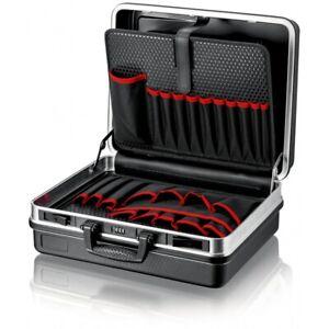 """Knipex 00 21 05 LE Werkzeugkoffer """"Basic"""" leer - 5,68kg - belastbar bis 15 kg"""