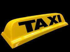 "Hackney/private noleggio Taxi Tetto sign 18"" Giallo Magnetico Top Scatola LUCI LED"