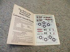 Letraset decals Dry transfers 1/48  M23 USAF markings P-47 P-51  F19