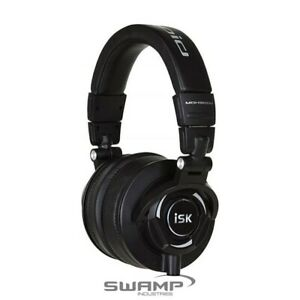 iSK MDH9000 Closed Back Headphones Studio Recording Monitoring, DJ or Audiophile