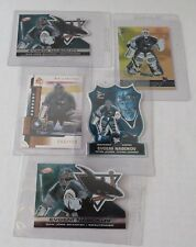 San Jose Sharks Goalie Evgeni Nabokov 5 rare Hockey cards #rd card
