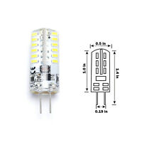 G4 3014 LED Capsule Bulbs Replace Halogen Lamp Spot Light Energy Saving ACDC12V