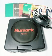 Numark PT01 Scratch Portable Turntable with DJ Scratch Switch and Extras