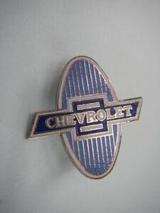 1929 1930 1931   Chevrolet Bowtie  Lapel Hat Pin Badge