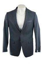 Van Gils Blue Pattern Jacket Size 42R RRP280