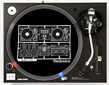 TECHNICS AIRMIX - DJ SLIPMATS (1 PAIR) SL1200's MK5 MK2 M3D or any turntable