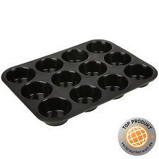 12er Muffinform Silikon Cupcake Backform Brownieblech Muffinblech Kuchenform