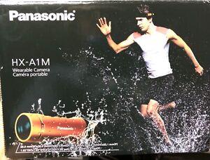 Panasonic HD MICRO TUBE STYLE Wearable Helmet Camera Recorder HX-A1M Orange 32gb