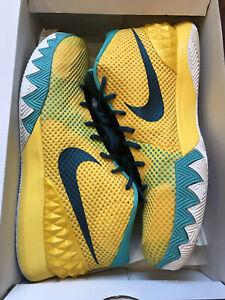 Nike Kyrie 1 Letterman 2015 Men's Size 14 Basketball Shoe NBA Retro Nets Dunk