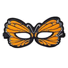 DREAMY DRESS-UPS - Orange Monarch BUTTERFLY Mask Costume - #50768