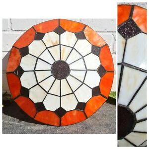 Tiffany Style Uplighters , Shades Stained glass pendant Ceiling Light, Art Deco
