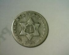 1853  THREE CENT SILVER   CIRCULATED  NICE LOOKING COIN!!!