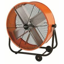 Industrial Commercial Shop Fan Drum Heavy Duty Rolling Factory Floor Garage Barn