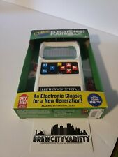 FOOTBALL Handheld Electronic Game 70's Retro  Classic Sounds Lights NEW