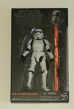 "Star Wars The Black Series 6"" Inch #09 Orange Line Stormtrooper AUTHENTIC"