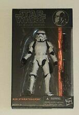 "Star Wars The Black Series 6"" Inch #09 Orange Line Stormtrooper AUTHENTIC"