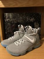"""NEW Nike Lebron XIV 14 MAG """"Marty Mcfly"""" Back To The Future (852405-005)Men 11"""