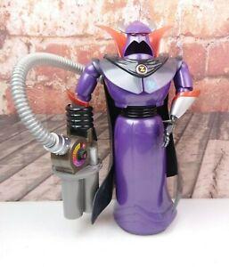 """Rare Disney Pixar Toy Story Emperpr Zurg Large Action Figure Talking 14"""" Works!"""