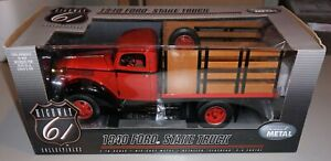 1940 Ford Stake Truck 1/16 Highway 61 Diecast New Never Out Of Box.