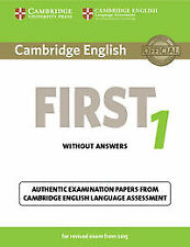 (15).1.CAMB.ENGLISH FIRST REVISED EXAM (SB-KEY). ENVÍO URGENTE (ESPAÑA)