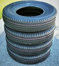 4 New Fortune ST01 ST 225/75R15 Load D 8 Ply Trailer Tires