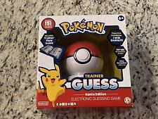 Pokemon Trainer Guess Kanto Edition Electronic Guessing Game Brand New Sealed