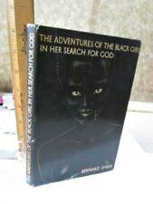 Adventures of Black Girl,Search For God,1933,Geo.Bernard Shaw,Illust,Dj,1st Ed.