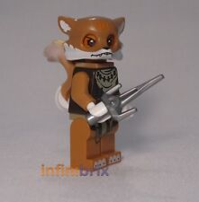 Lego Furty from Set 70111 Swamp Jump Legends of Chima Fox Tribe BRAND NEW loc046