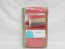 MARTHA STEWART - Western Horizon Beige Multi Color One Standard Pillowsham