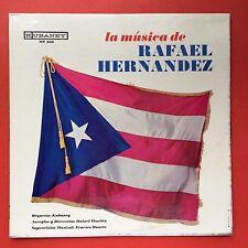 La Musica De Rafael Hernandez Orquesta Kubaney Preciosa Puerto Rico MINT-