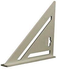 "SPEED SQUARE/ROOFING/RAFTER ANGLE TRIANGLE GUIDE QUICK MEASURE 7"" ALLOY U76"