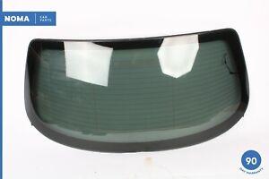 06-08 Jaguar X350 XJ8 XJR Vanden Plas Rear Window Glass 6W93422A12AC OEM