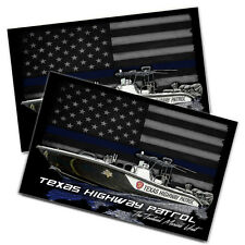 "Texas Highway Patrol Tactical Marine Unit 11x17"" Two Wall Posters"