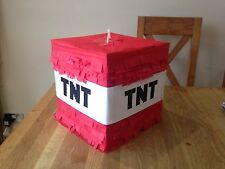 Pinata TNT filled with Sweets Birthday Minecraft Party Boys Girls Decoration