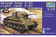 UNIMODELS 307 1/72 Light tank T-80
