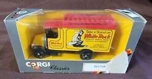 Corgi Classics C906/3 Mack Truck White Rock Sparkling Mineral Water