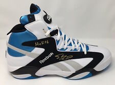 """SHAQUILLE O'NEAL Autographed / Inscribed """"HOF '16"""" Size 22 Rookie Shoe STEINER"""