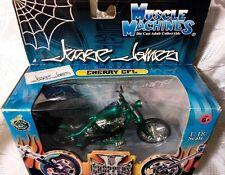 "New West Coast Choppers Jesse James ""Cherry CFL"" Bike 1:18 Scale Green"